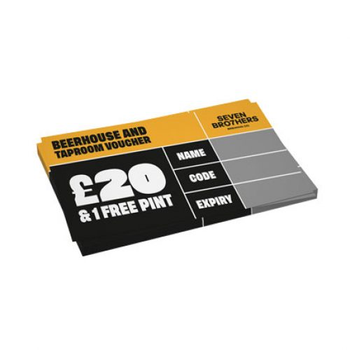 £20 Beerhouse Voucher